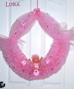 Kız Bebek Kapı Süsü - 75756