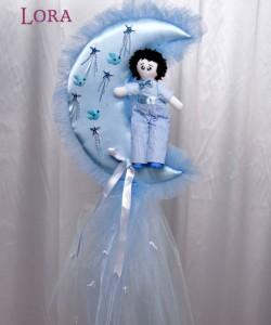 Erkek Bebek Kapı Süsü - 75779