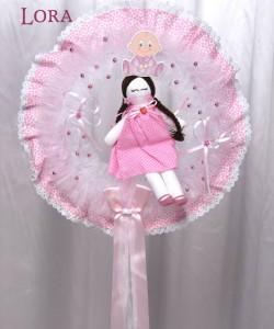 Kız Bebek Kapı Süsü - 75792