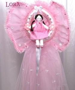 Kız Bebek Kapı Süsü - 75793
