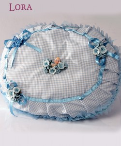 Erkek Bebek Takı Yastığı - 78058