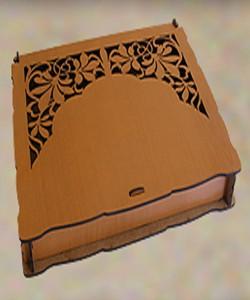 Ahşap Çikolata Kutuları - 89033