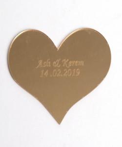 Lazer Kesim Ayna Nikah Bibloları - 94015