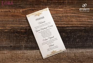 Erdem menü kartı - 55